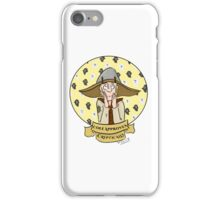 Adverbial Approval - Cole iPhone Case/Skin