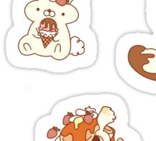 Dessert Animal Collection Sticker