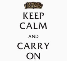 Keep Calm and Carry On ver 3 by NotReally