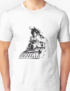 Western train Unisex T-Shirt