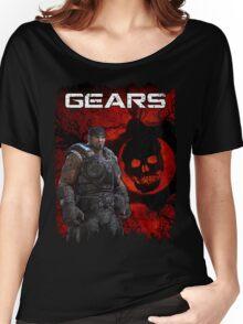 Gears of War Tattered Women's Relaxed Fit T-Shirt