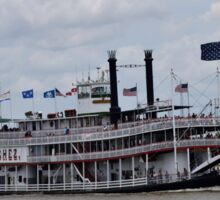 New Orleans River Boat Sticker