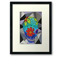 Sugar Skull Framed Print