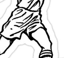 Vollspannstoss Full Instep Kick vintage 50s Sticker