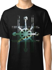 TIC TAC TOE ARROWS WATERFALL Classic T-Shirt