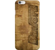 BINFORD WOOD iPhone Case/Skin