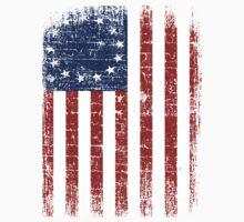 USA 13 Star 1776 Flag One Piece - Long Sleeve