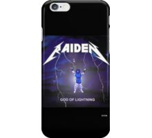 Raiden the lightning iPhone Case/Skin