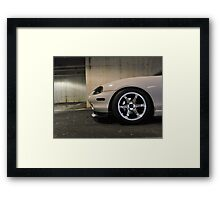 Miata wheels Framed Print