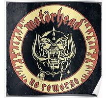 Motorhead (No Remorse) Vintage Poster