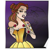 Disney Princesses with attitude - Belle Poster