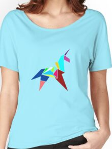 Unicorn Origami Women's Relaxed Fit T-Shirt