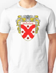 McFarland Coat of Arms/Family Crest Unisex T-Shirt