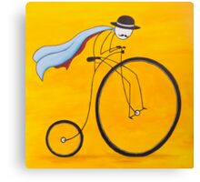 Bicycle Thief Canvas Print