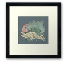 Monster Boyfriend Framed Print