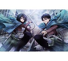 Attack on Titan 22 Photographic Print