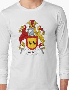 Corbett Coat of Arms / Corbett Family Crest Long Sleeve T-Shirt