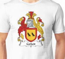 Corbett Coat of Arms / Corbett Family Crest Unisex T-Shirt