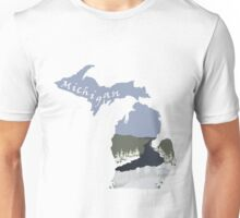 Michigan: Tahquamenon Falls Unisex T-Shirt