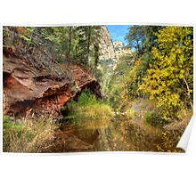 Oak Creek Canyon in Sedona Poster