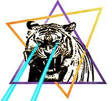 Laser Tiger by HilaryHeffron