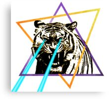 Laser Tiger Canvas Print