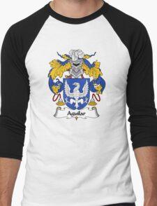 Aguilar Coat of Arms/Family Crest Men's Baseball ¾ T-Shirt