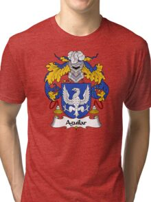 Aguilar Coat of Arms/Family Crest Tri-blend T-Shirt