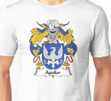 Aguilar Coat of Arms/Family Crest Unisex T-Shirt