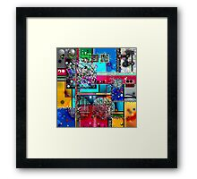 Areal S Framed Print