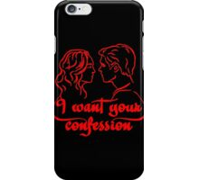 Vampire - I Want Your Confession iPhone Case/Skin