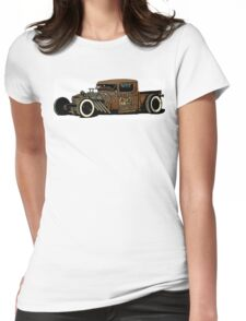 Rat rod Style Womens Fitted T-Shirt