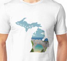 Michigan: Arch Rock Unisex T-Shirt