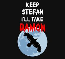Vampire - I'll Take Damon Unisex T-Shirt
