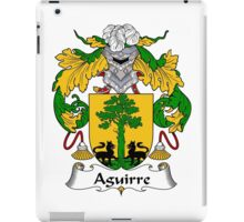 Aguirre Coat of Arms/Family Crest iPad Case/Skin
