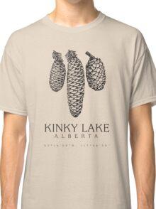 Kinky Lake, Alberta. Classic T-Shirt