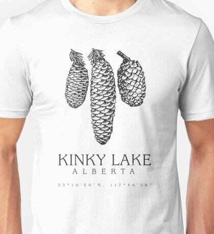 Kinky Lake, Alberta. Unisex T-Shirt