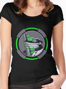 Science Badger Approved Women's Fitted Scoop T-Shirt