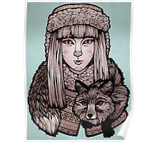 Fox Girl Poster