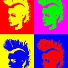 Punk Girl – Pop Art / Vers. II by Bela-Manson