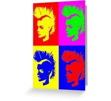 Punk Girl – Pop Art / Vers. II Greeting Card