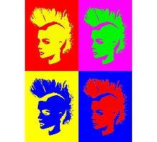 Punk Girl – Pop Art / Vers. II Photographic Print