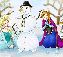 Frozen Olaf New Brother by Bemmygail Abanilla