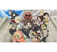 Attack on Titan 28 Photographic Print