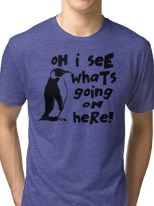 Billy Madison Quote - Oh I See What's Going On Here Tri-blend T-Shirt
