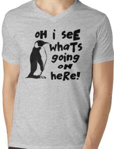 Billy Madison Quote - Oh I See What's Going On Here Mens V-Neck T-Shirt