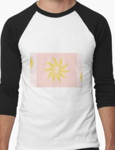 Sun Flower Men's Baseball ¾ T-Shirt