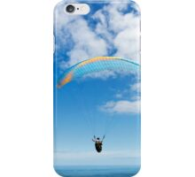 Paraglider in Blue iPhone Case/Skin