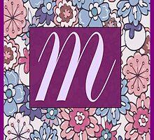 Monogram, Letter M by mav04