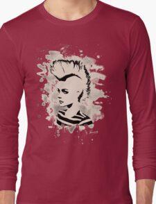 Punk Girl – bleached - white Long Sleeve T-Shirt